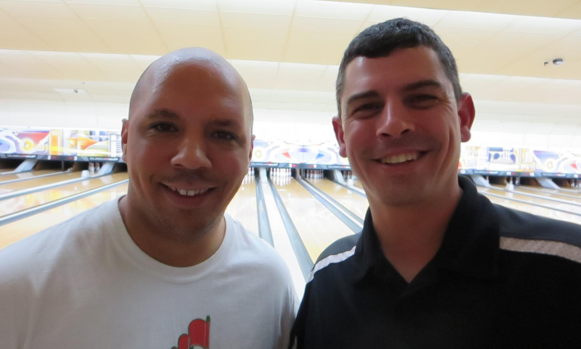 Champion Ronnie Sparks, Jr. (left) and Runner Up Jason Lockwood (right)