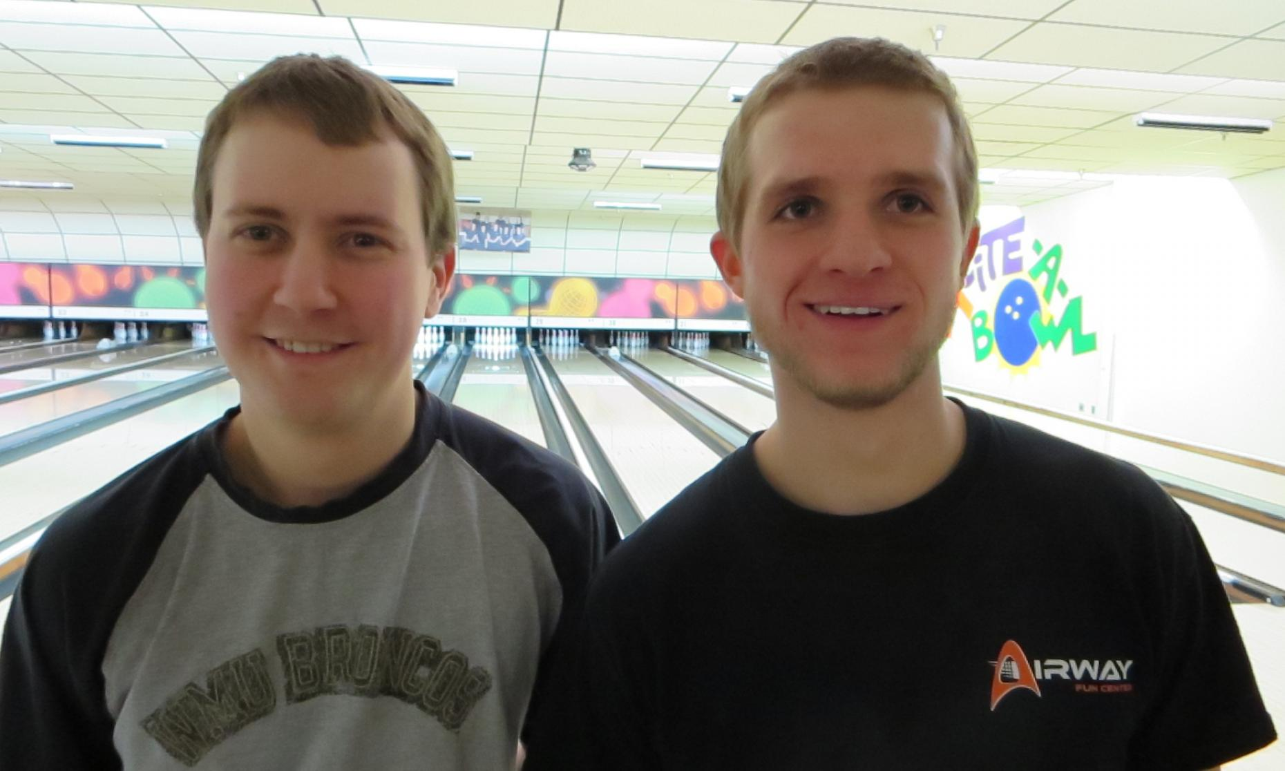 Champion David McDonald (left) and Runner-up Justin Houser (right)