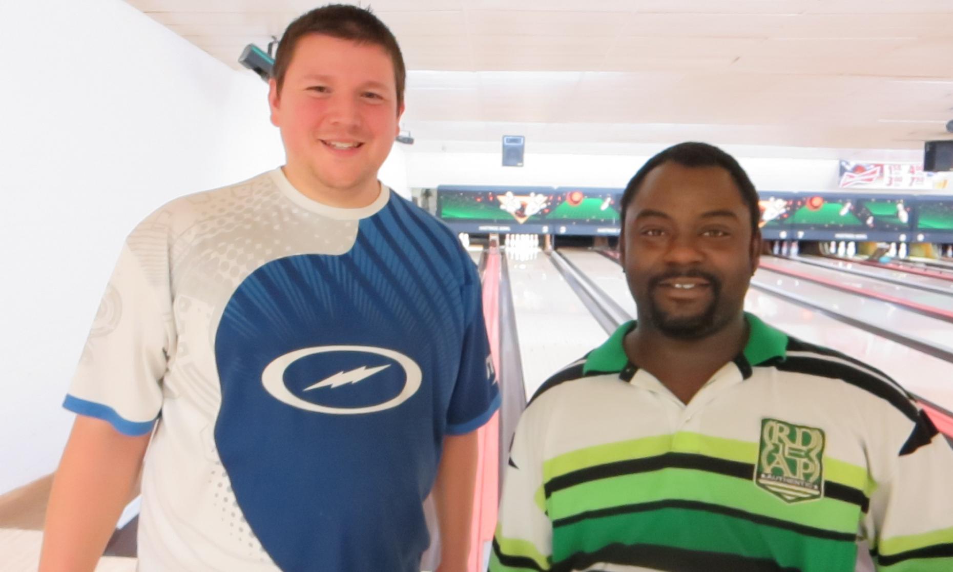 Champion Jason Rasinske (left) and Runner up LaJuan White (right)