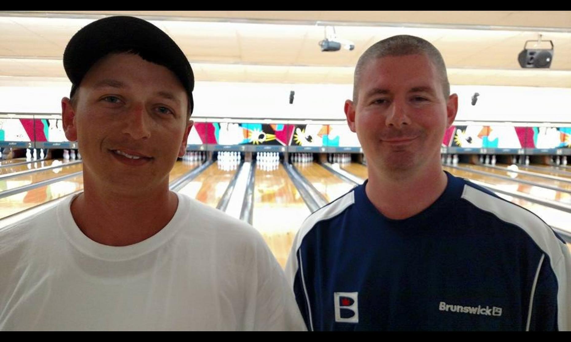 Runner-Up Jesse Smith & Champion Patrick Dombrowski