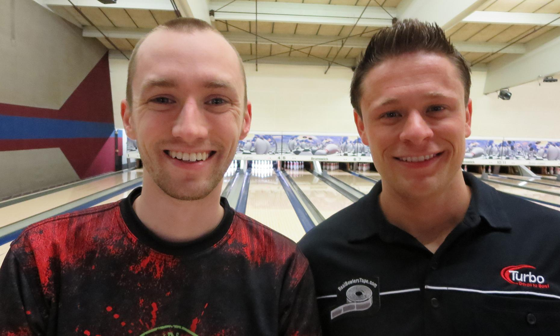 Champion Aaron Lorincz and Runner-up Nick Kokenos