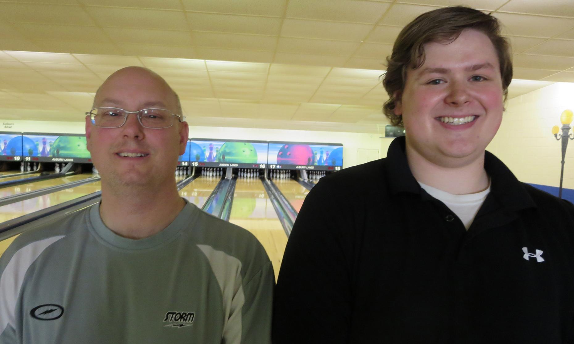 Champion Jeff Fox and Runner-up Bryan Eaton