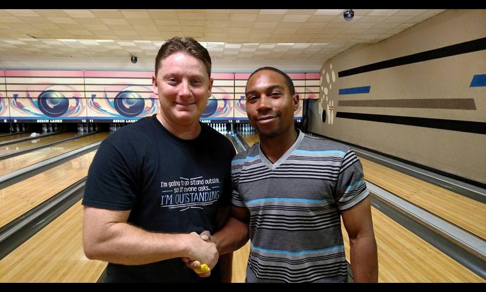 Champion Tim Bell & Runner-Up Kurry Crayton
