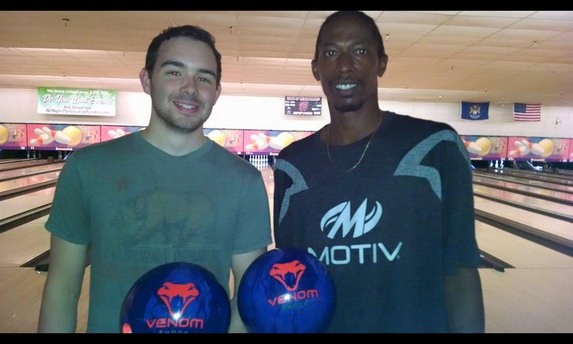 Champion Drew Klingler & Runner-Up Carleton Champbers