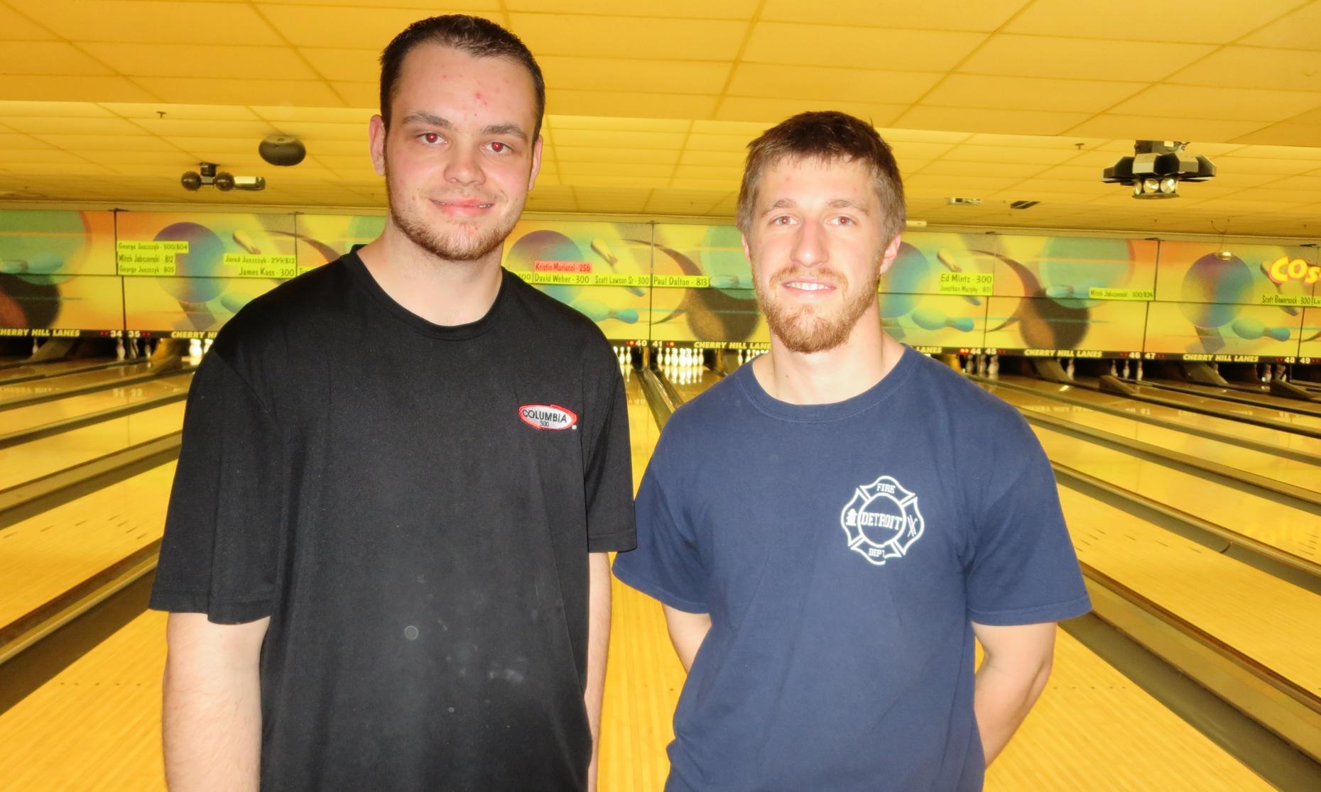 Champion Justin O'Hara and Runner-Up Dan Pollak