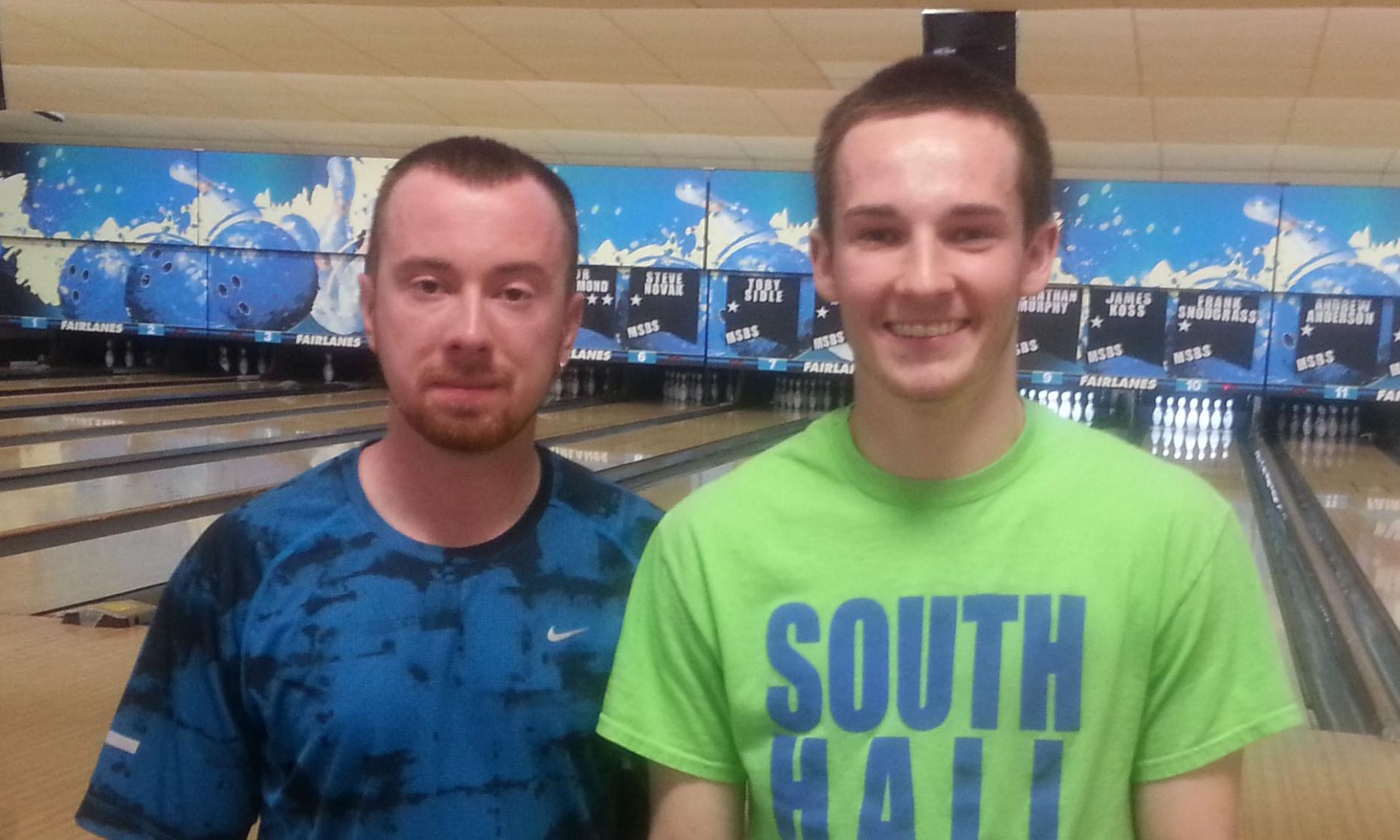 Runner-Up Steve Novak and Champion Kyle Koprowitz
