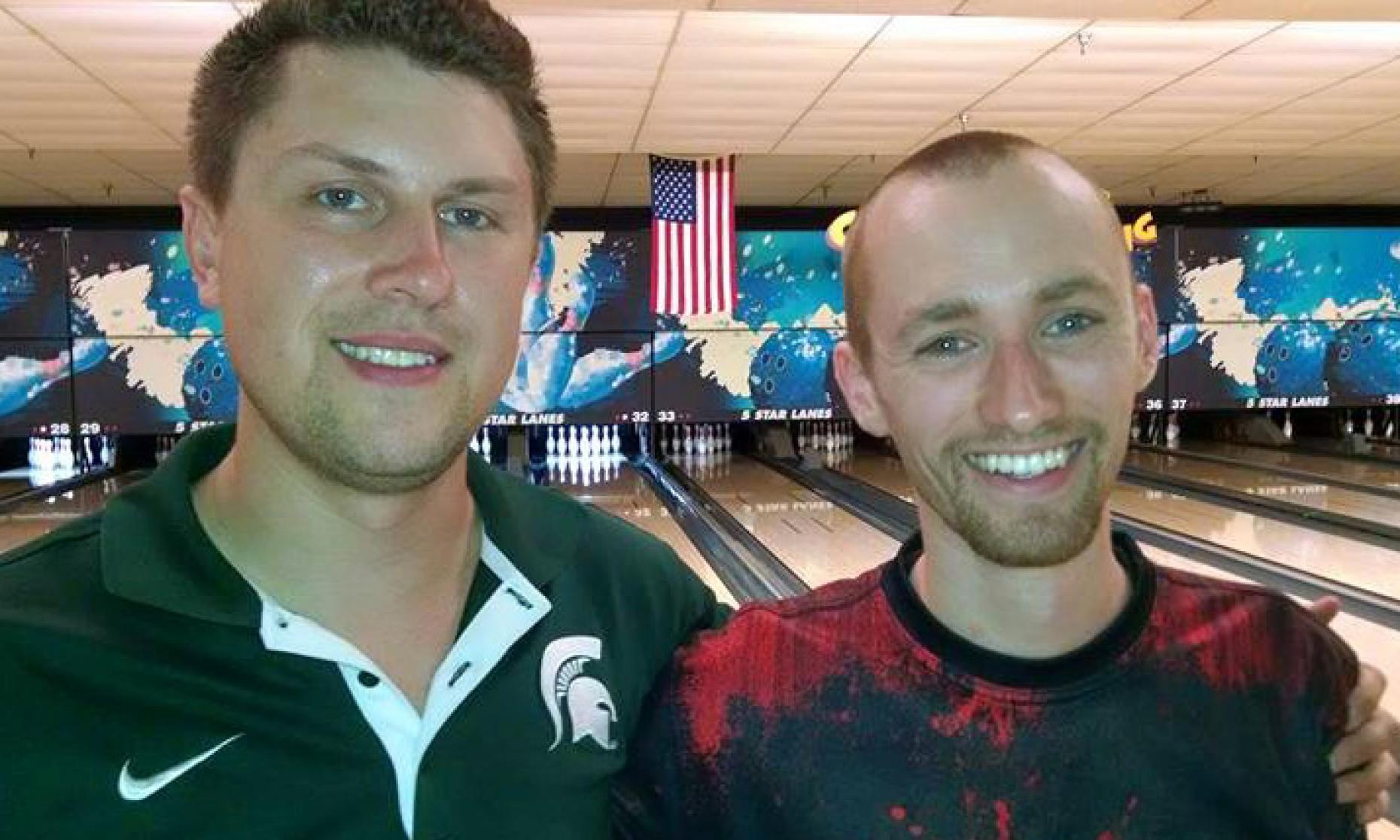 Runner-Up Craig Nidiffer & Champion Aaron Lorincz