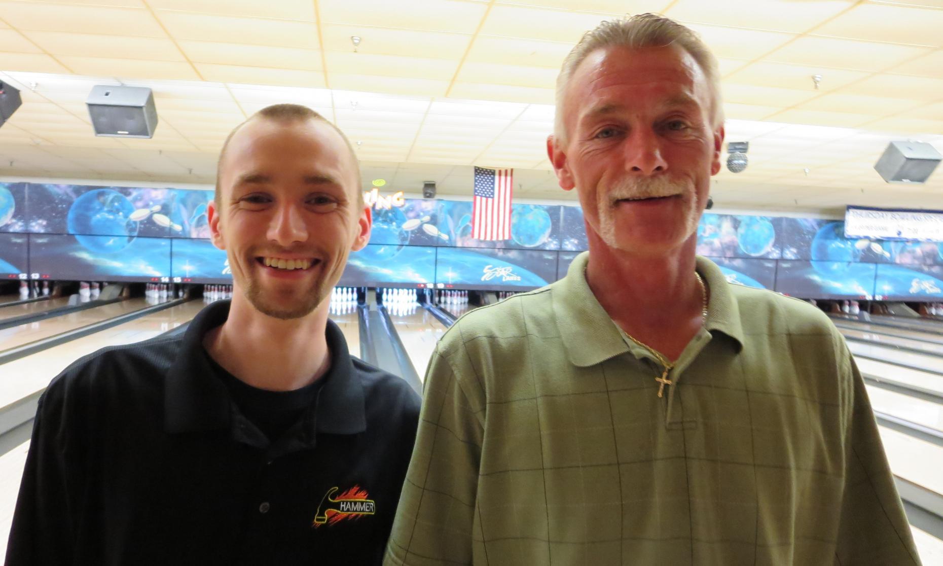Champion Aaron Lorincz and Runner-Up Gary Schluchter