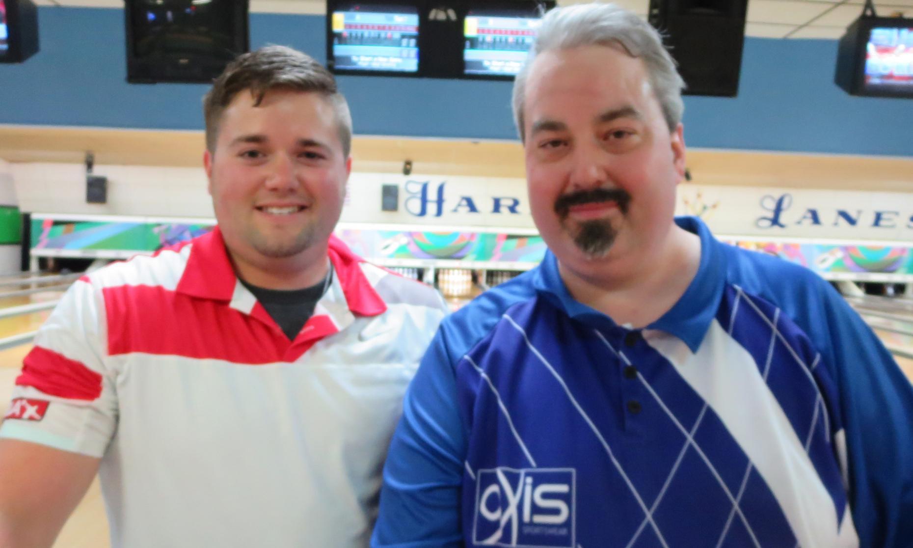 Champion Ryan Tamburrino and Runner-up Brian Regan