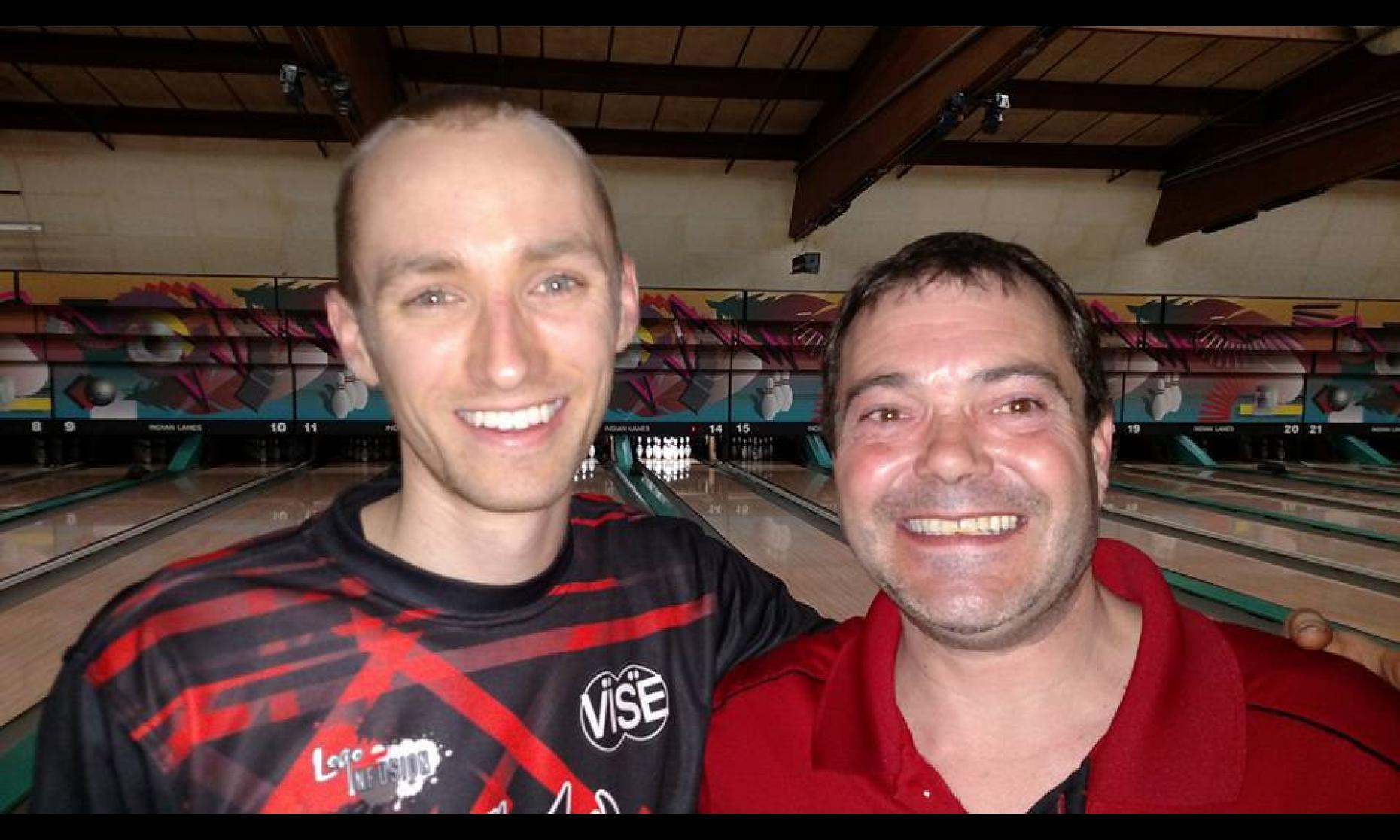 Champion Aaron Lorincz & Runner-Up Russ Shaffer