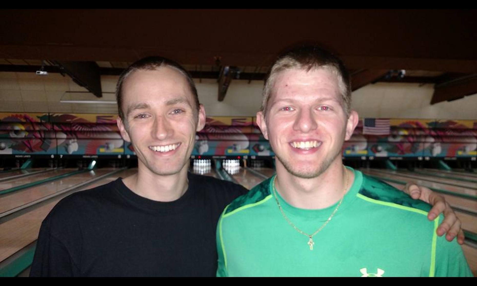 Champion Aaron Lorincz & Runner-Up Shawn Bibee