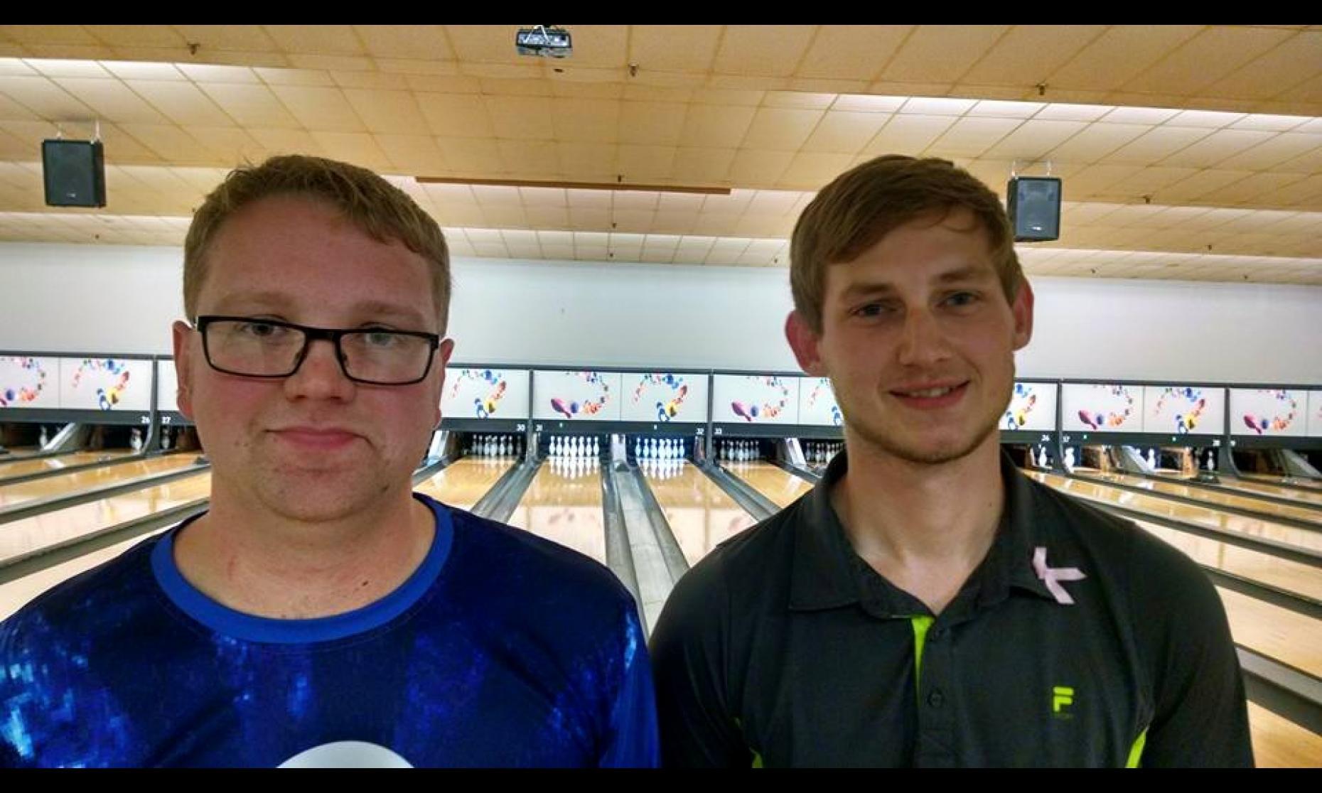 Runner-Up Charles Easton & Champion Alex Weaver