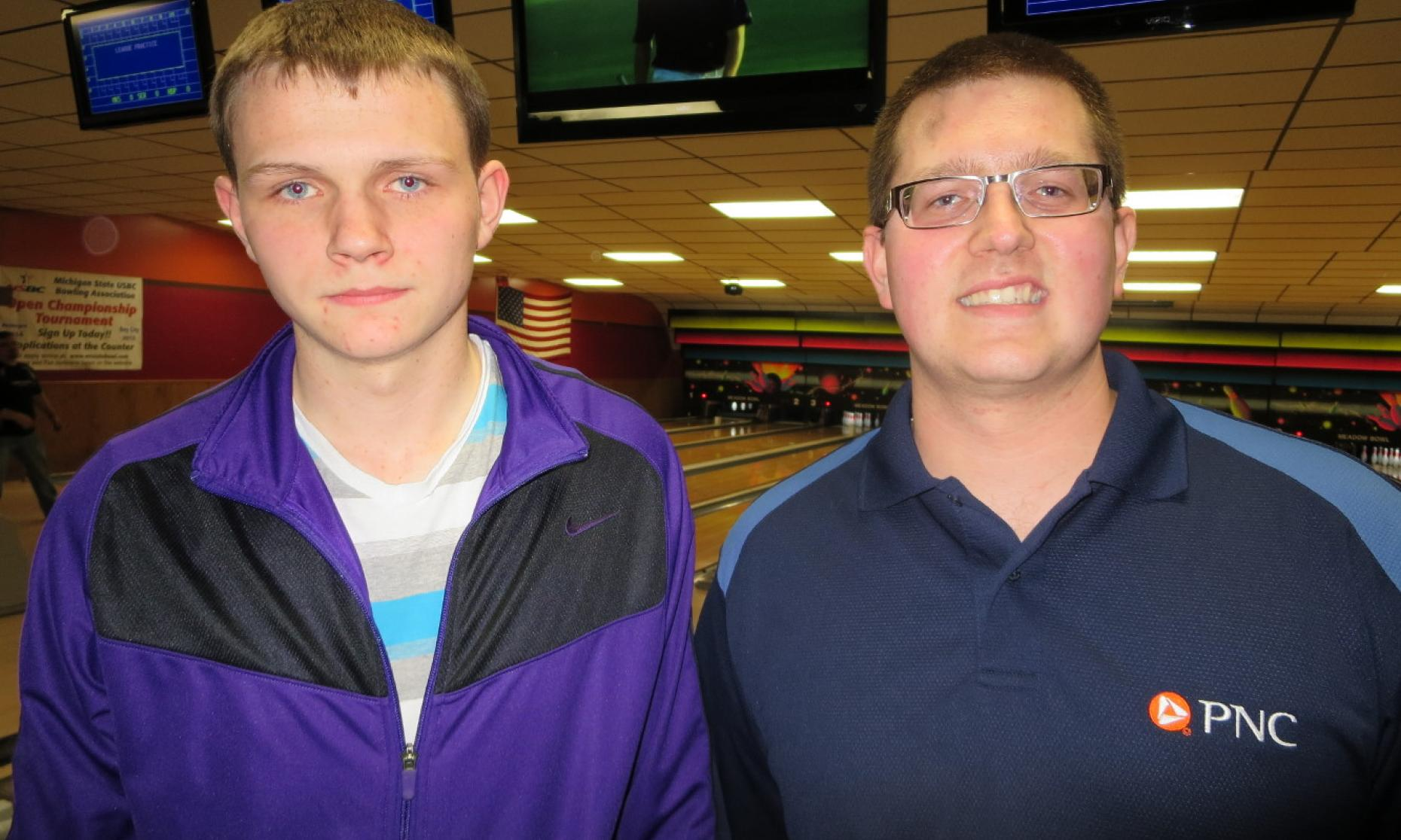 Runner-Up Andrew Anderson and Champion Eric Scott