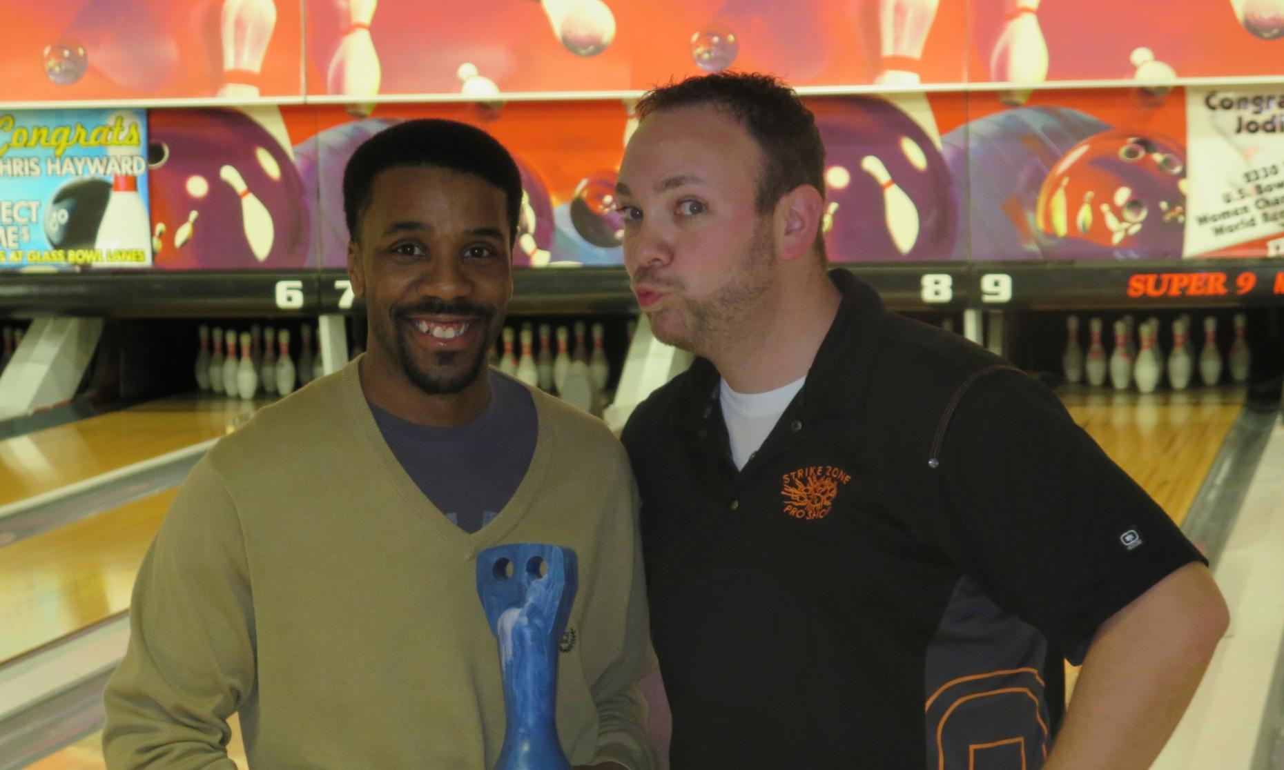 Champion Mason Brantley and Runner-Up JR Raymond