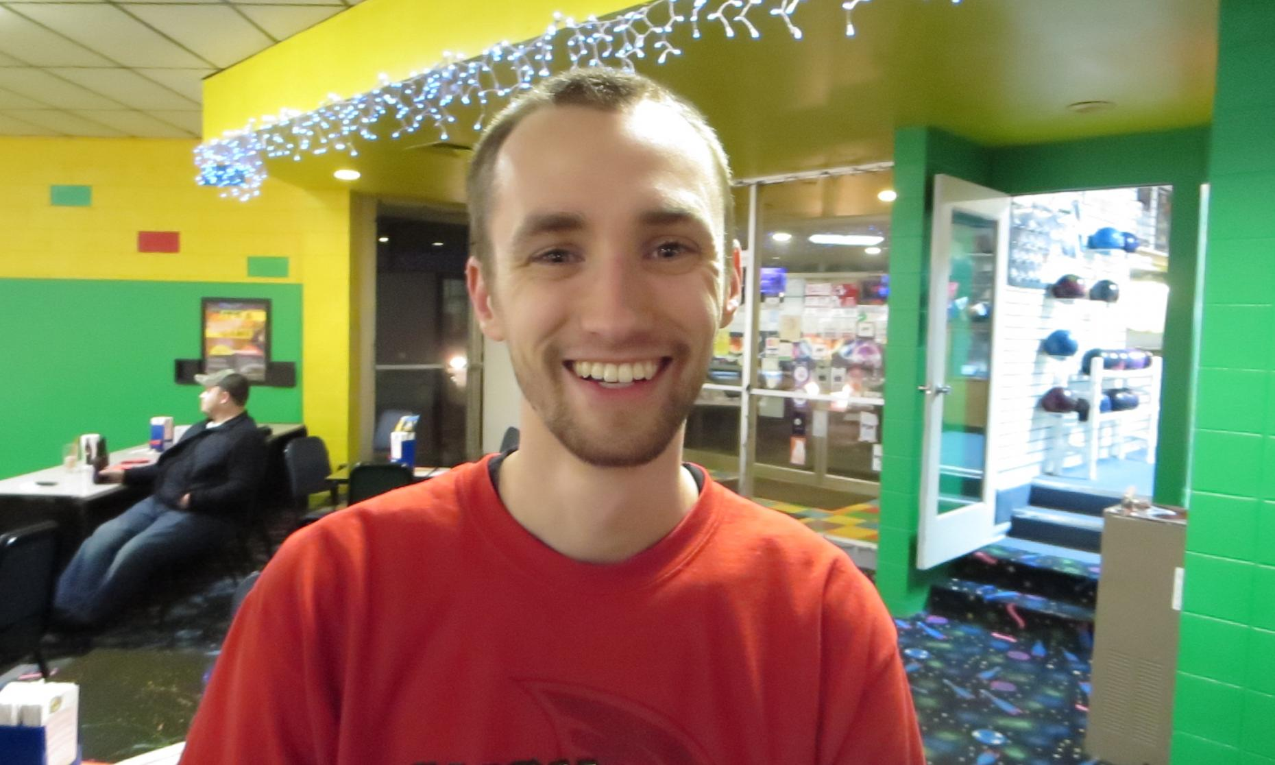 Champion Aaron Lorincz