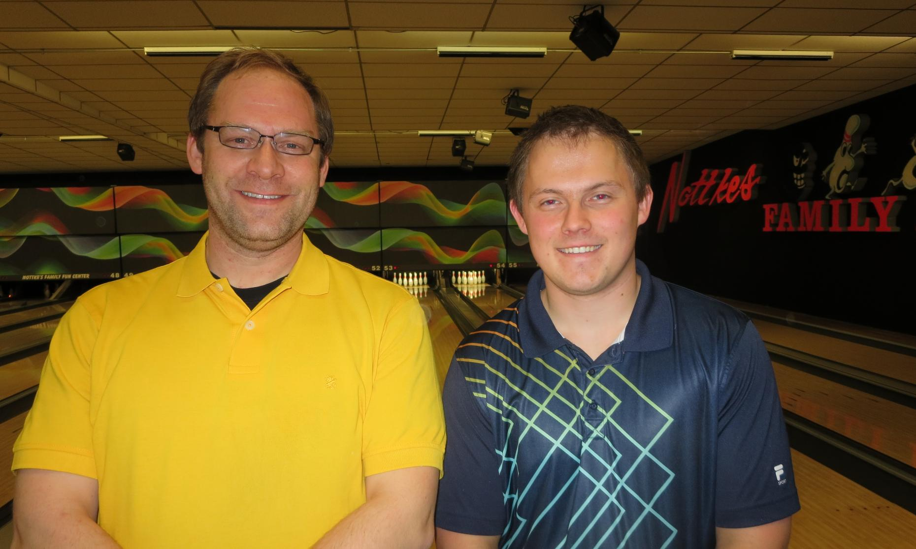 Nottke's Sweeper Runner-Up Jim Cox and Champion Zach Brandt