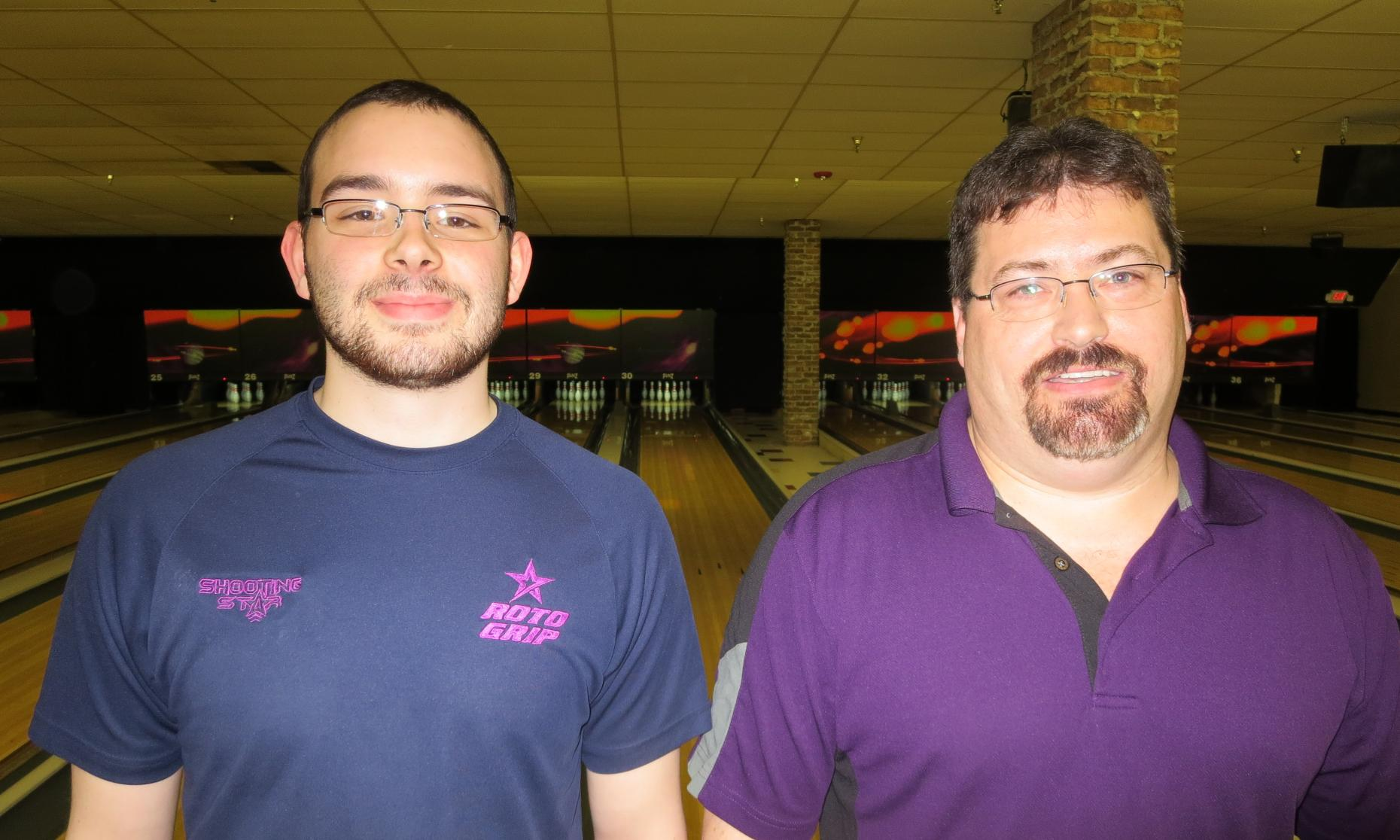 Pinz Sweeper Champion Drew Klingler and Runner-Up Myke Brandt