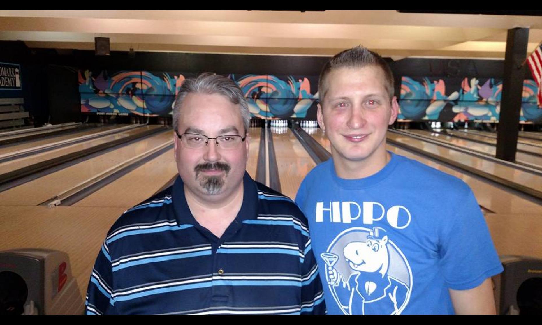 Runner-Up Brian Regan & Champion Josh Jablonski