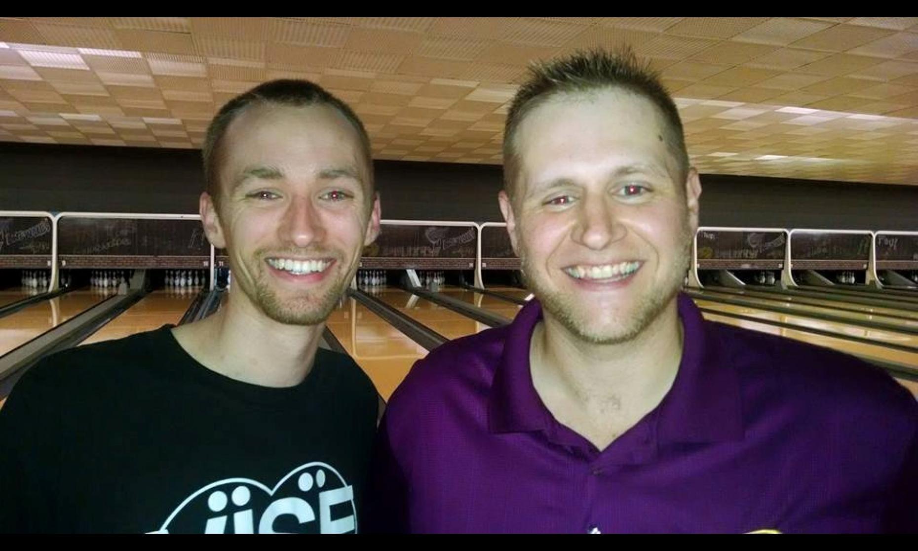 Champion Aaron Lorincz & Runner-Up George Juszczyk