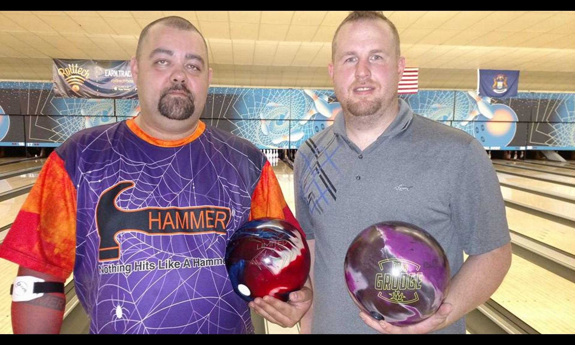 Champion Leonard Weyandt & Runner-Up Michael Maynard