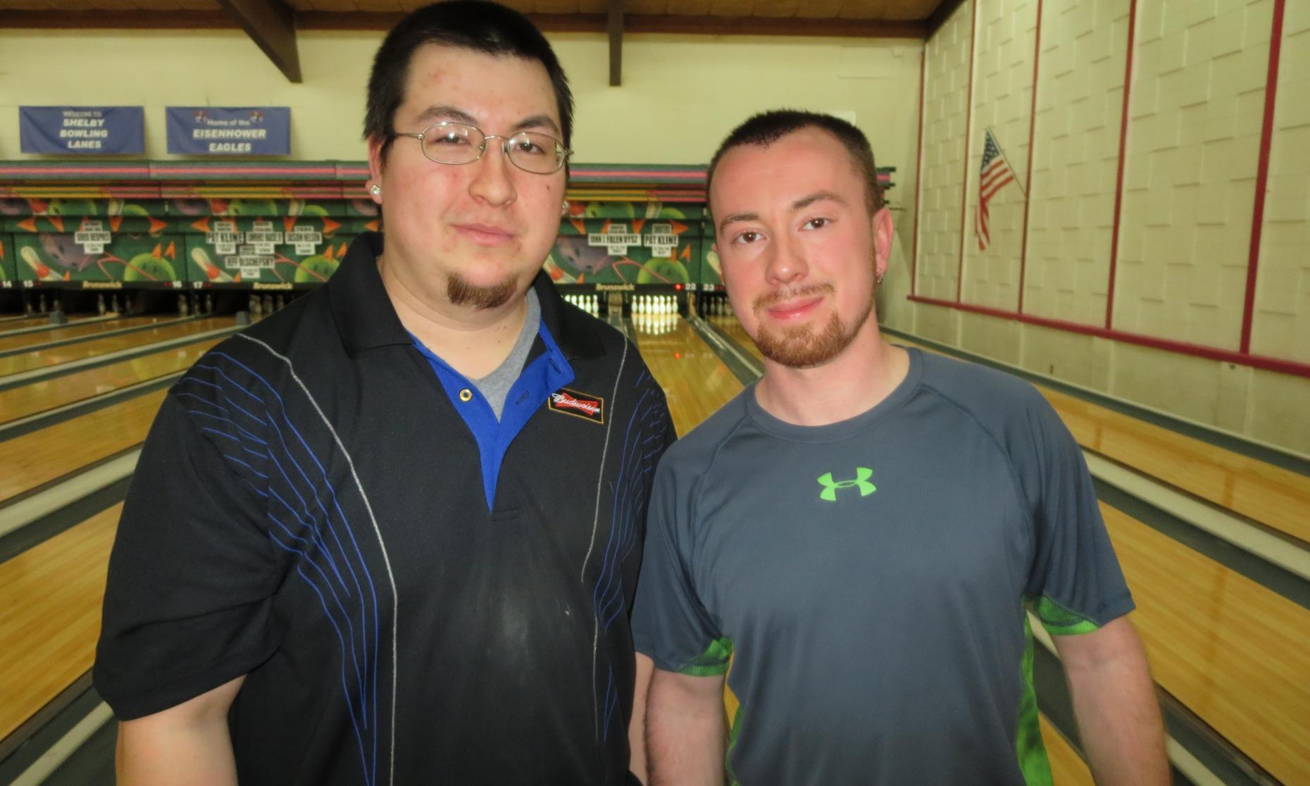 Runner-Up Brian Odom and Champion Steve Novak