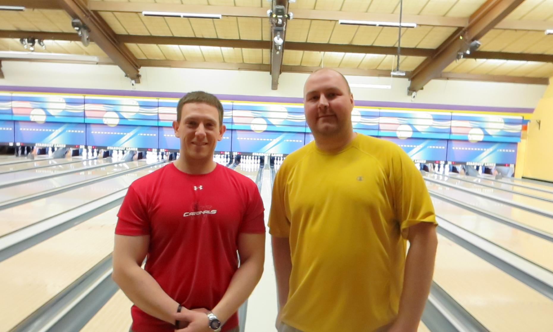 Champion Toby Sidle & Runner-Up Brian McMahon