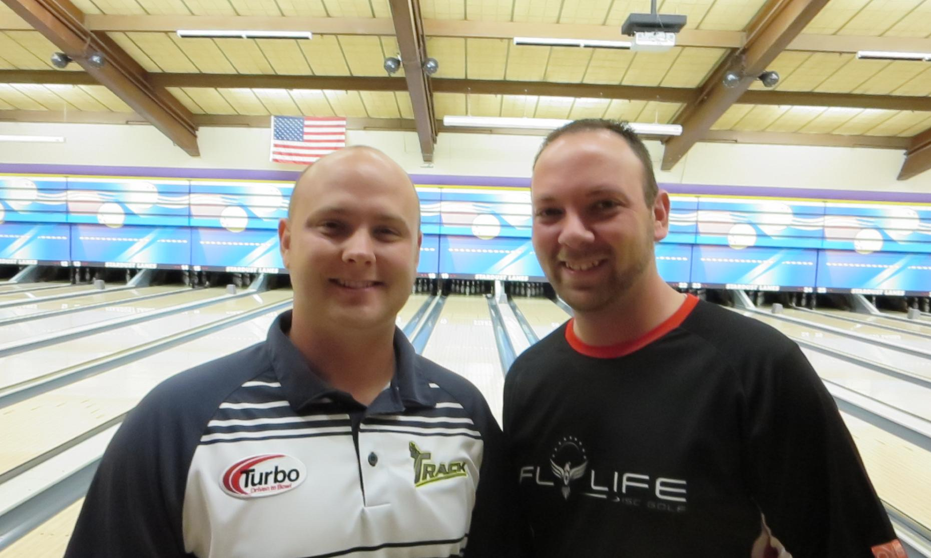 Champions Dan MacLelland and J.R. Raymond