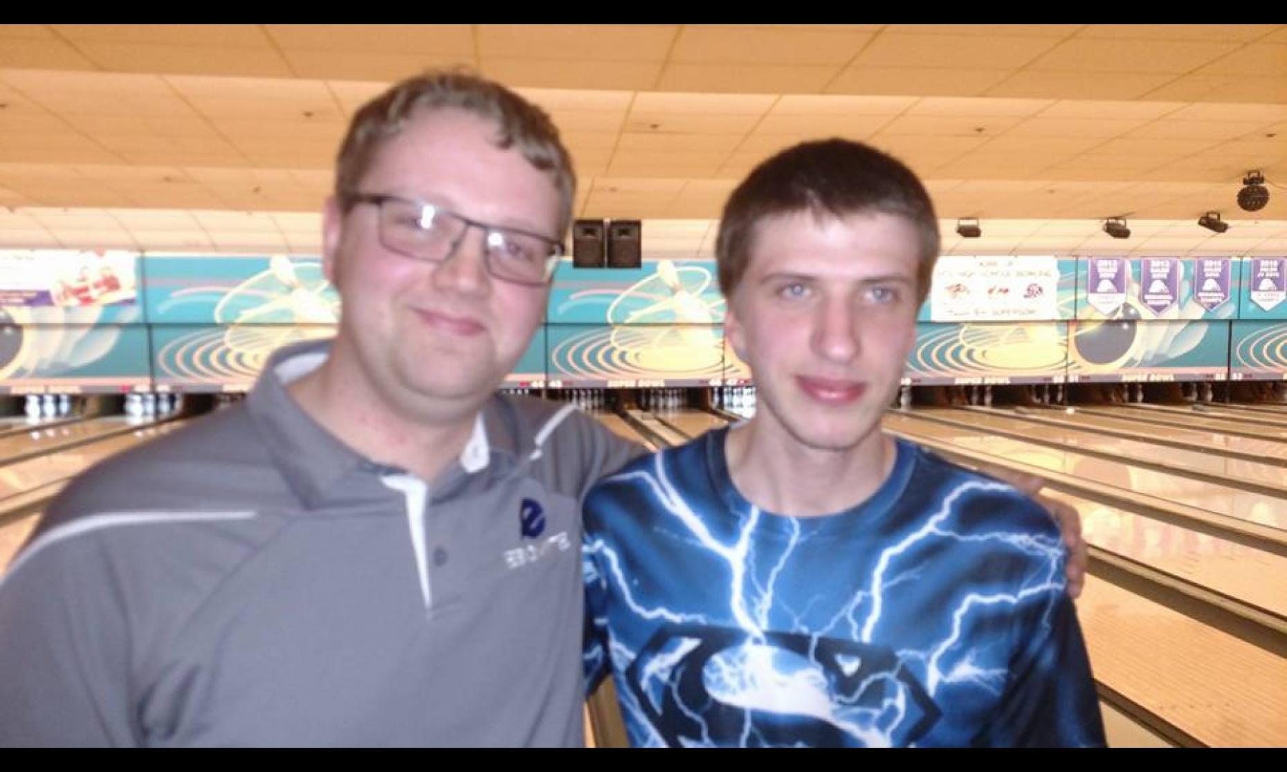 Champion Charles Easton & Runner-Up Kagen Schroyer