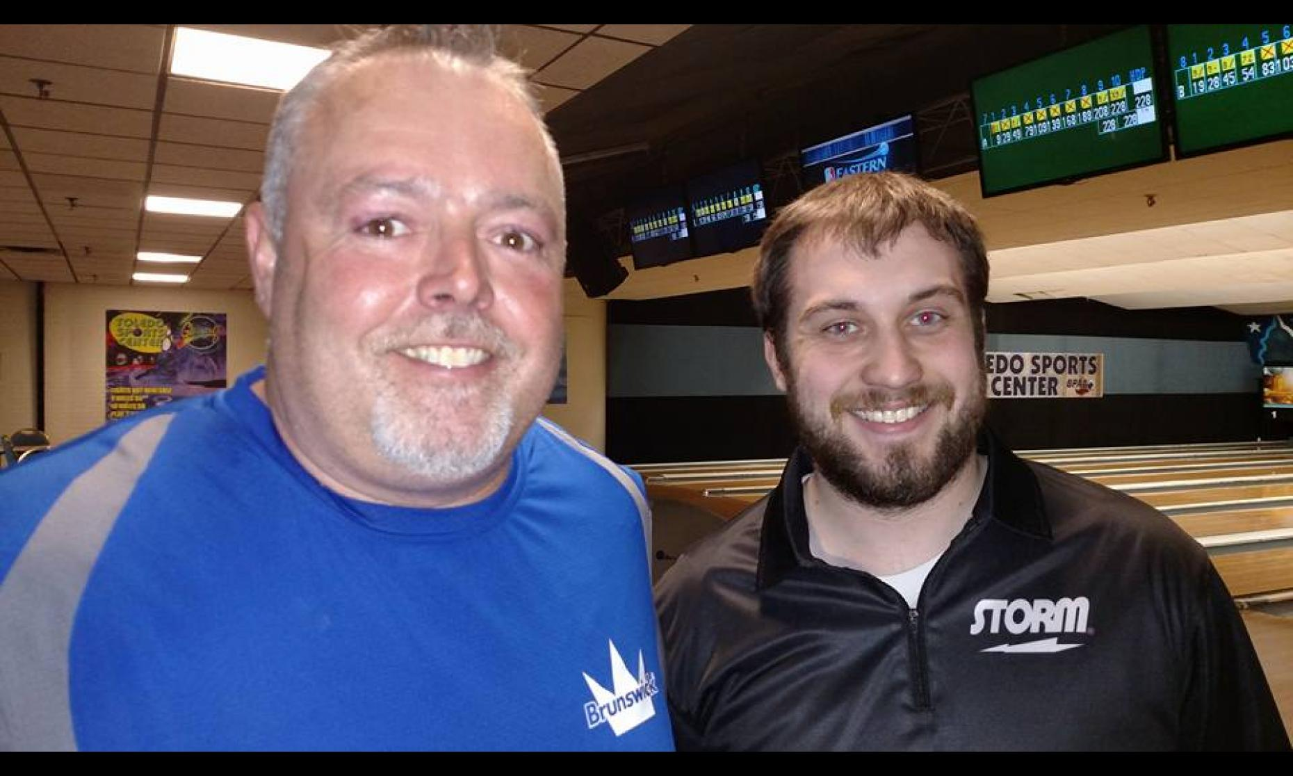 Champion Chris Hayward & Runner-Up Travis Kominek