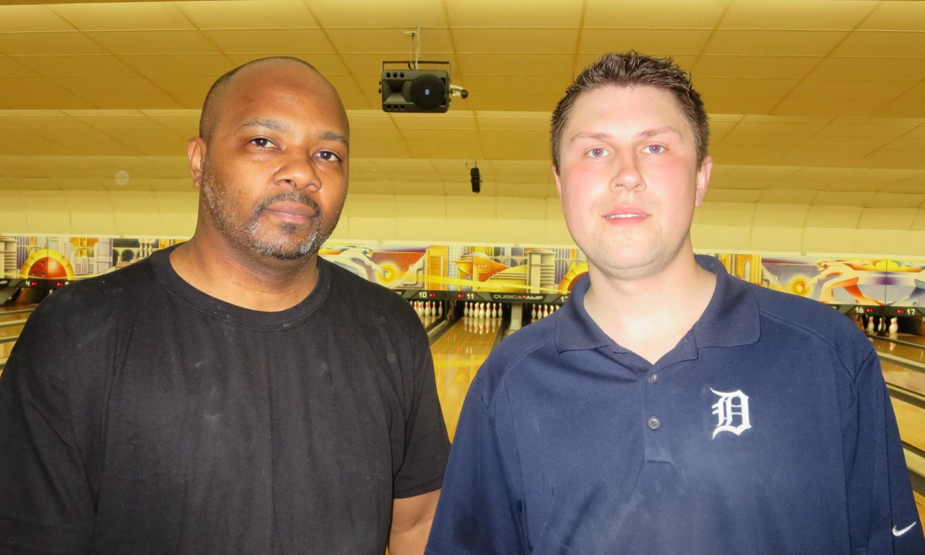 Champion Damonde Griggs and Runner-Up Craig Nidiffer