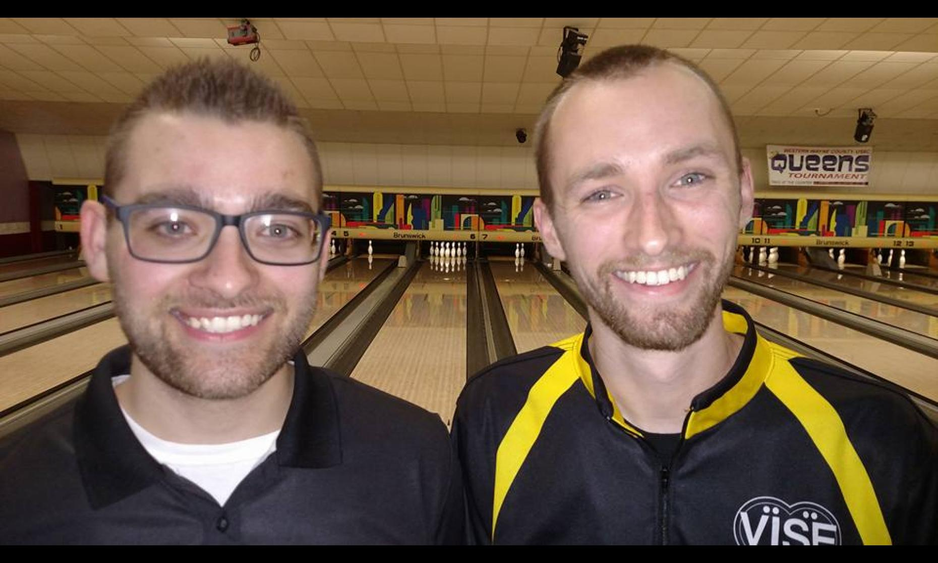 Champions Frank Snodgrass & Aaron Lorincz